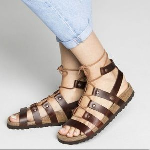 Papillio by Birkenstock Cleo Gladiator Sandals, 8M